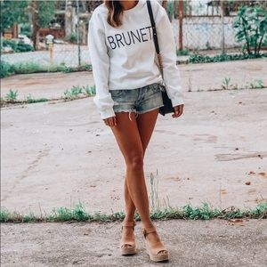 Blogger Obsessed Oversided Brunette Sweater